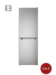 indesit-ld70n1s-60cm-frost-free-fridge-freezer-silver