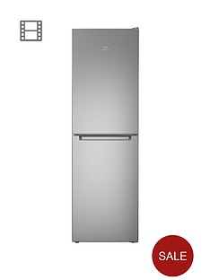 indesit-ld85f1s-60cm-frost-free-fridge-freezer-silver