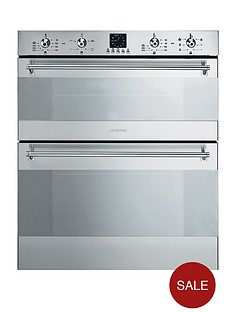 smeg-dusc36x-60cm-under-counter-double-electric-oven-stainless-steel