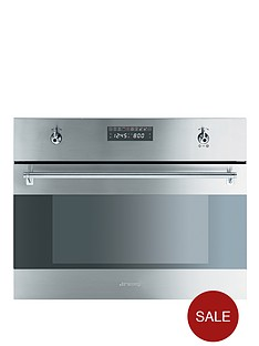 smeg-s45mcx2-60-cm-built-in-electric-microwave-oven