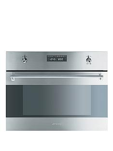 smeg-s45mcx2-60cm-built-in-electric-microwave-oven-stainless-steel