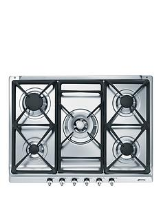 smeg-se70sgh-5-69cm-built-in-gas-hob-stainless-steel