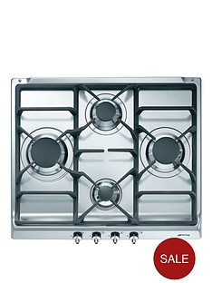 smeg-se60sgh3-60cm-built-in-gas-hob-stainless-steel