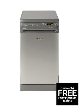 hotpoint-siuf22111g-ultima-slimline-10-place-dishwasher-graphite