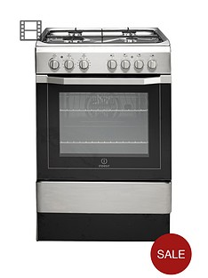indesit-i6g52x-60cm-single-oven-dual-fuel-cooker-stainless-steel