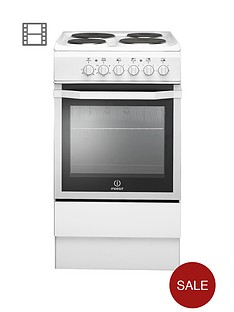 indesit-i5eshw-50-cm-single-oven-electric-cooker