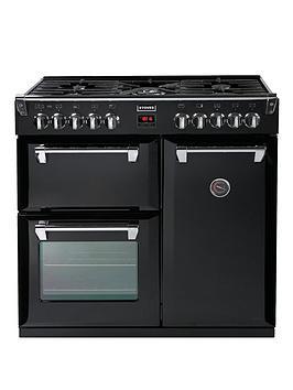 stoves-richmond-900dft-90cm-dual-fuel-range-cooker-with-connection-black