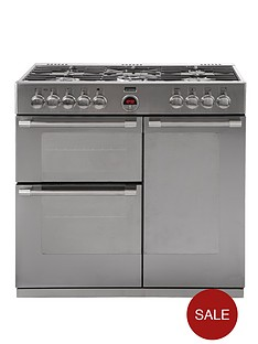 stoves-richmond-900dft-90cm-dual-fuel-range-cooker-stainless-steel