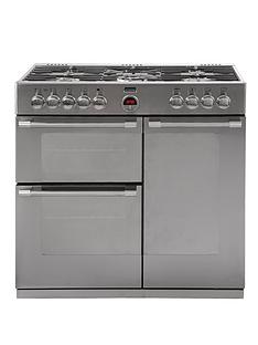 stoves-richmond-900dft-90cm-dual-fuel-range-cooker-with-connection-stainless-steel