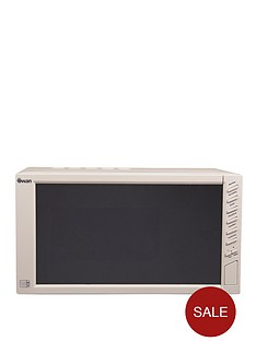 swan-sm22050c-800-watt-23-litre-mirror-door-microwave-cream
