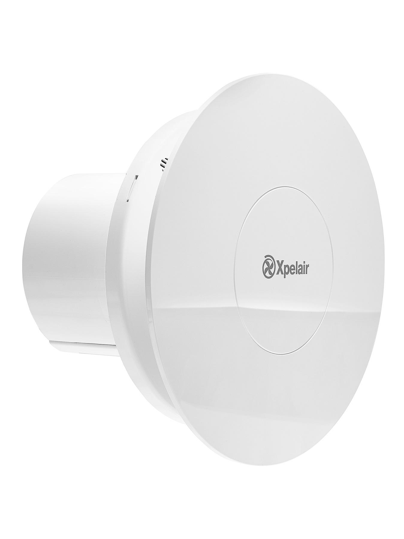 Xpelair Simple Silent Contour Round Bathroom Extractor Fan