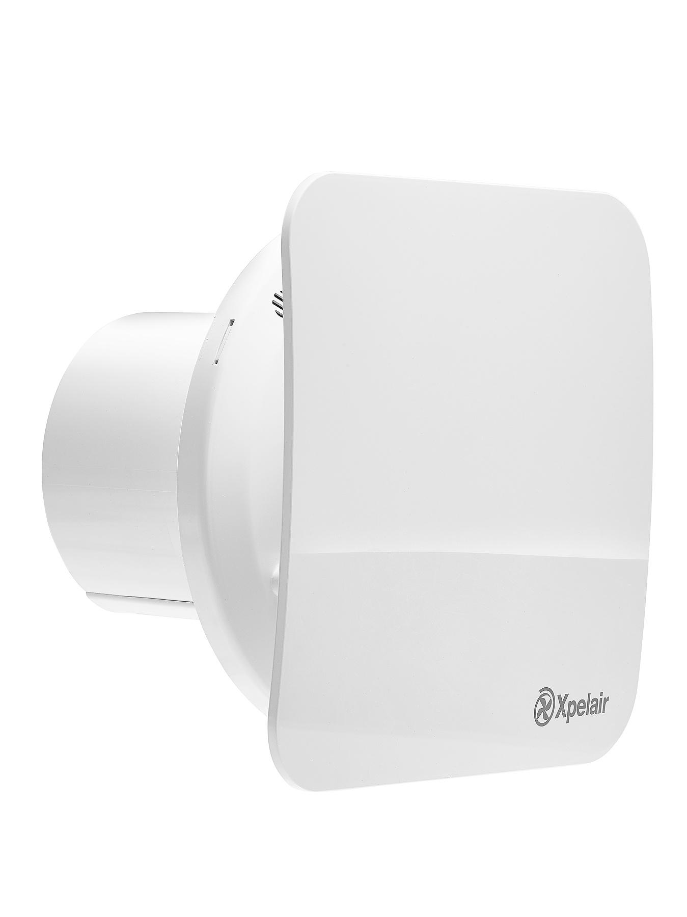 Xpelair Simple Silent Contour Square Bathroom Extractor Fan