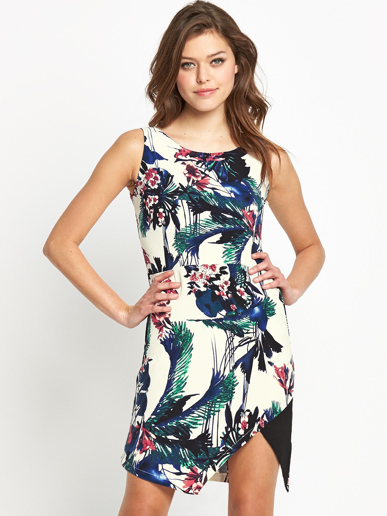 Fashion Union Asymmetric Dress