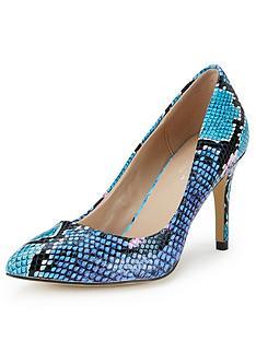 carvela-kirsty-snake-print-court-shoes