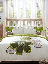 Candice Duvet Cover Set - Green (Buy 1 Get 1 FREE!)