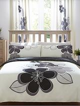 Candice Duvet Cover Set - Black (Buy 1 Get 1 FREE!)