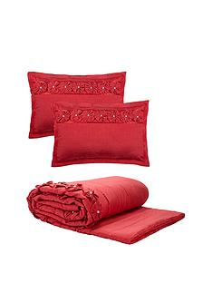 franchesca-throw-and-shams-red