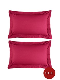 non-iron-percale-180-thread-count-oxford-pillowcases-pair