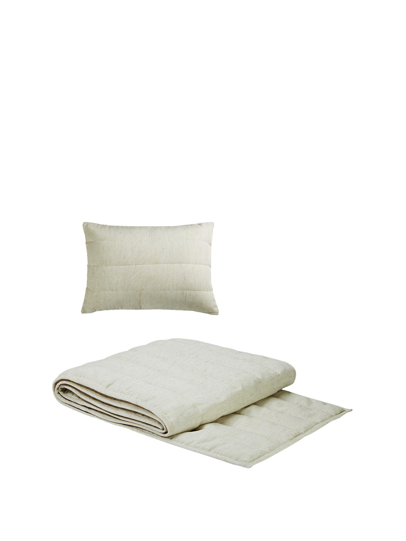 Hotel Collection Tranquility 200 Thread Count Runner and Pillow Accessory Pack