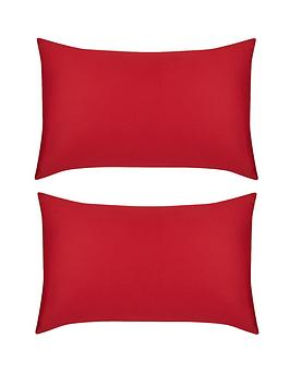 Hotel Collection Cotton 300 Thread Count Housewife Pillowcases (Pair)