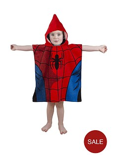 spiderman-hooded-poncho