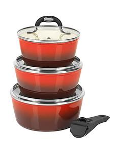 salter-4-piece-saucepan-set-with-detachable-handle-red