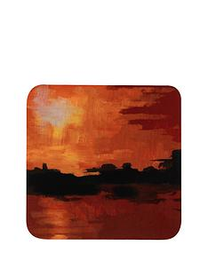 hardboard-seaside-sunset-coasters-and-placemats-set
