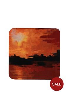 hardboard-seaside-sunset-coasters-and-placemats-set