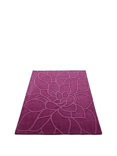 chrysanthemum-wool-rug