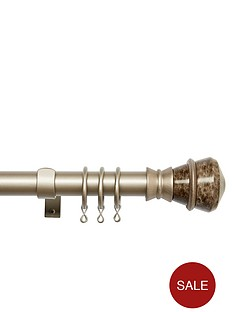 28mm-extendable-pole-with-marble-jewel-finial