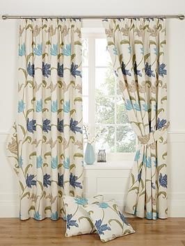 Kinsale Pleated Curtains
