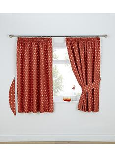 polka-dot-thermal-kitchen-curtains