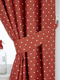 polka-dot-thermal-kitchen-curtain-tiebacks