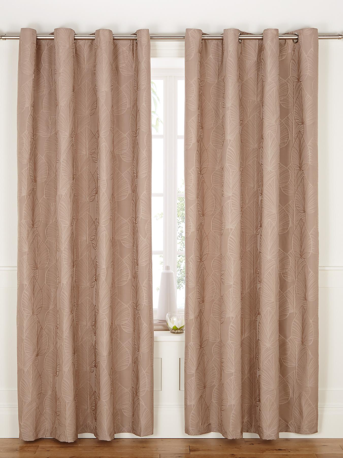 Soller Eyelet Curtains, Charcoal