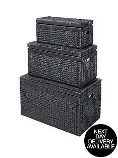 set-of-3-nested-lidded-arrow-weave-chests