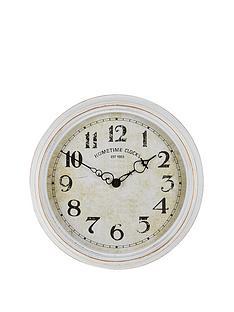 vintage-effect-wall-clock
