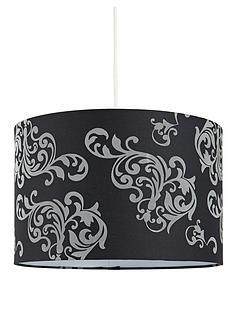 black-damask-easy-fit-pendant