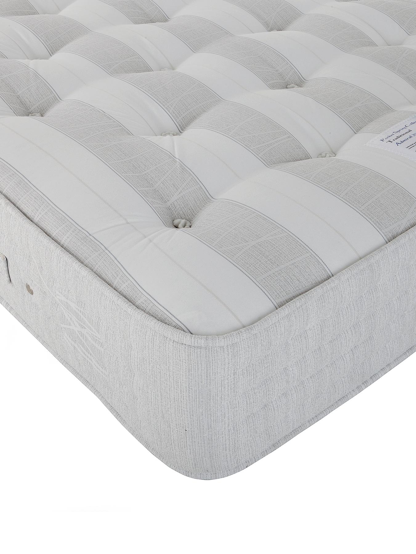 Sweet Dreams Admiral 2000 Pocket Mattress - Extra Firm