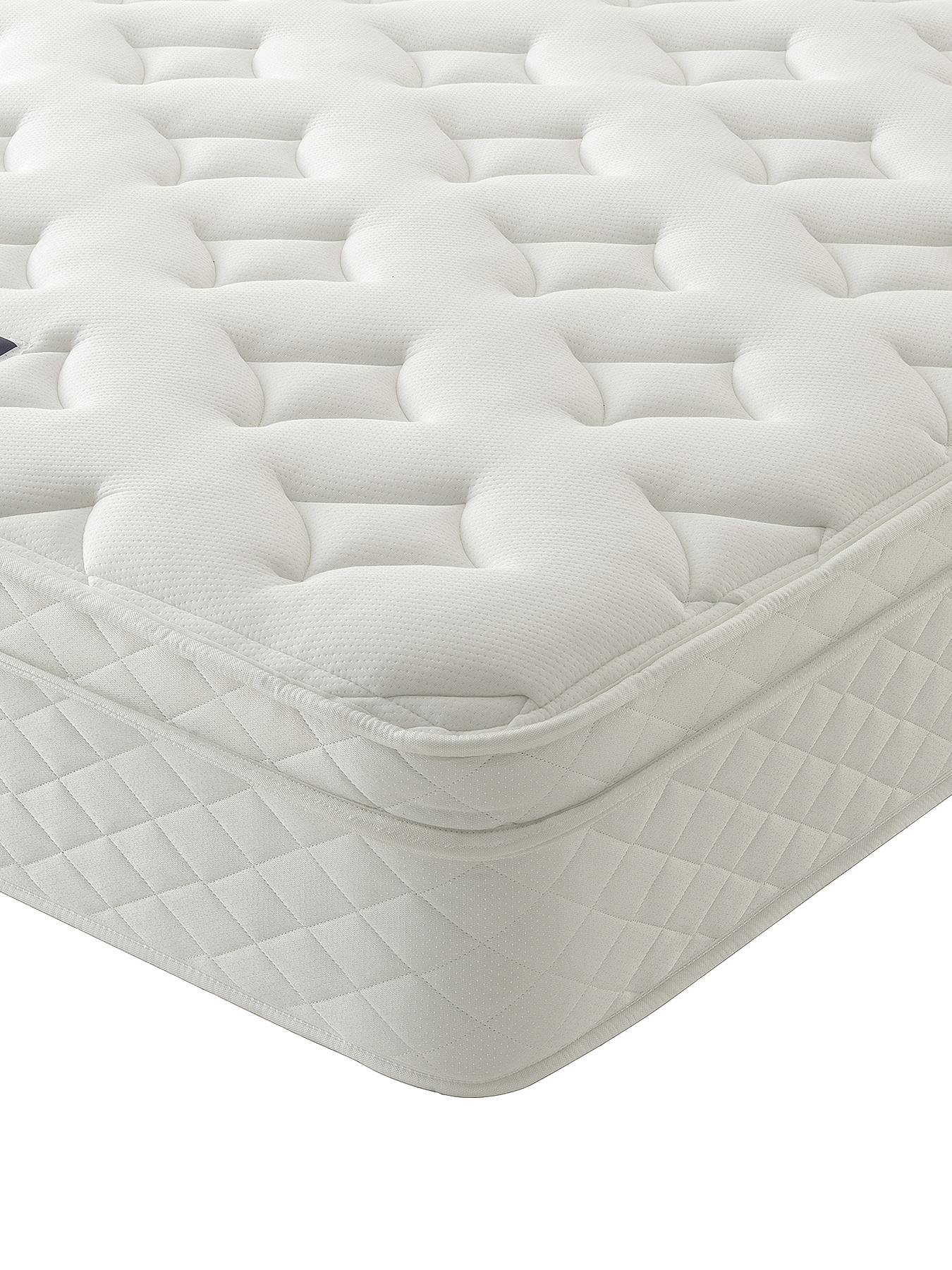 Silentnight Miracoil 3 Luxury Memory Cushioned Top Mattress with Optional Next Day Delivery
