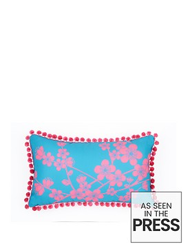 fearne-cotton-havana-printed-pom-pom-cushion