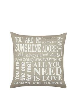 love-words-cushion