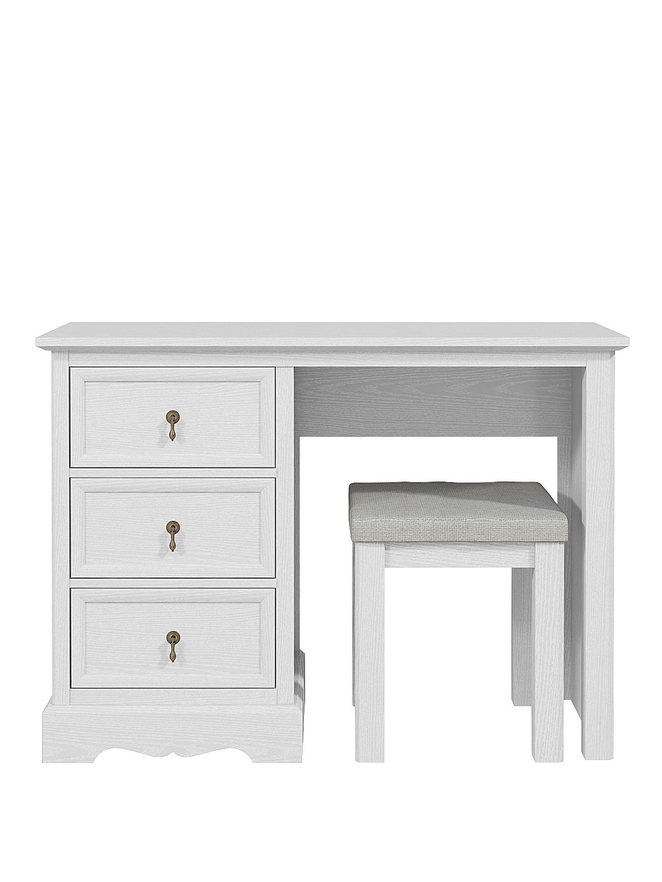 Charlotte Dressing Table and Stool Set