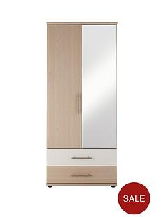 consort-putney-ready-assembled-2-door-2-drawer-mirrored-wardrobe