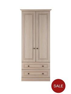 consort-willow-ready-assembled-2-door-2-drawer-wardrobe-light-oak