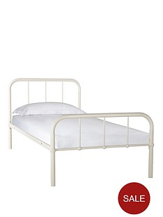 kidspace-dexter-metal-bed-with-optional-standard-or-premium-mattress
