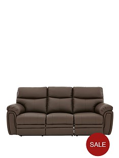 la-z-boy-tampa-leather-3-seater-manual-recliner-sofa