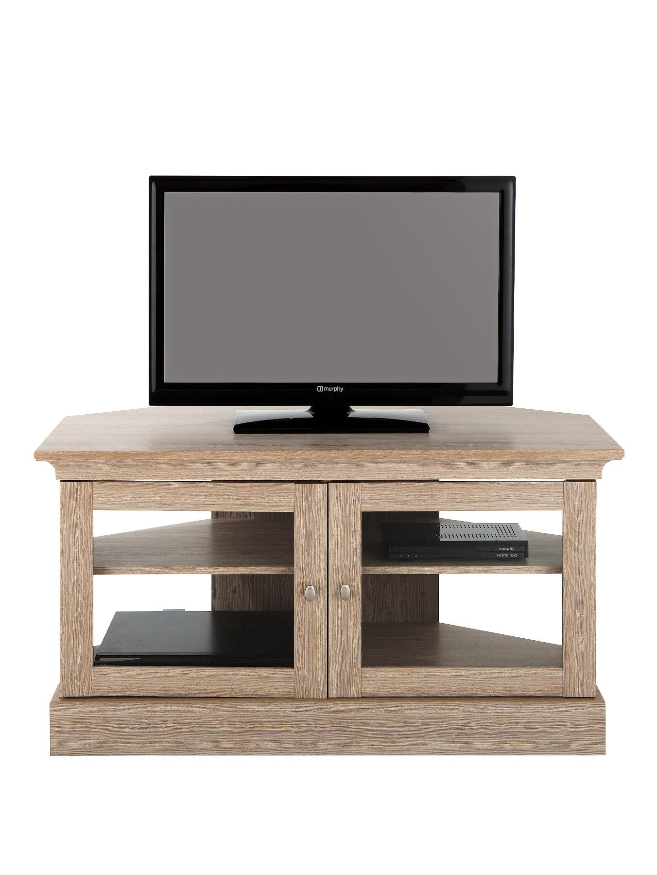 Consort Valencia Ready Assembled Corner TV Unit