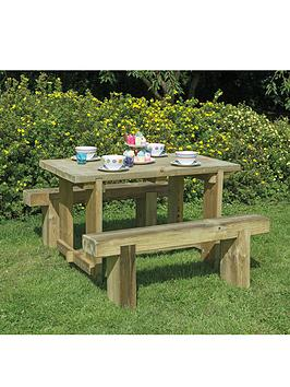 forest-garden-refectory-table-12m-long-and-2-benches