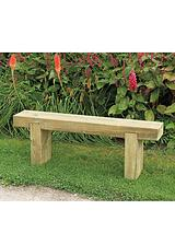 Garden Sleeper Bench - 1.2m Long