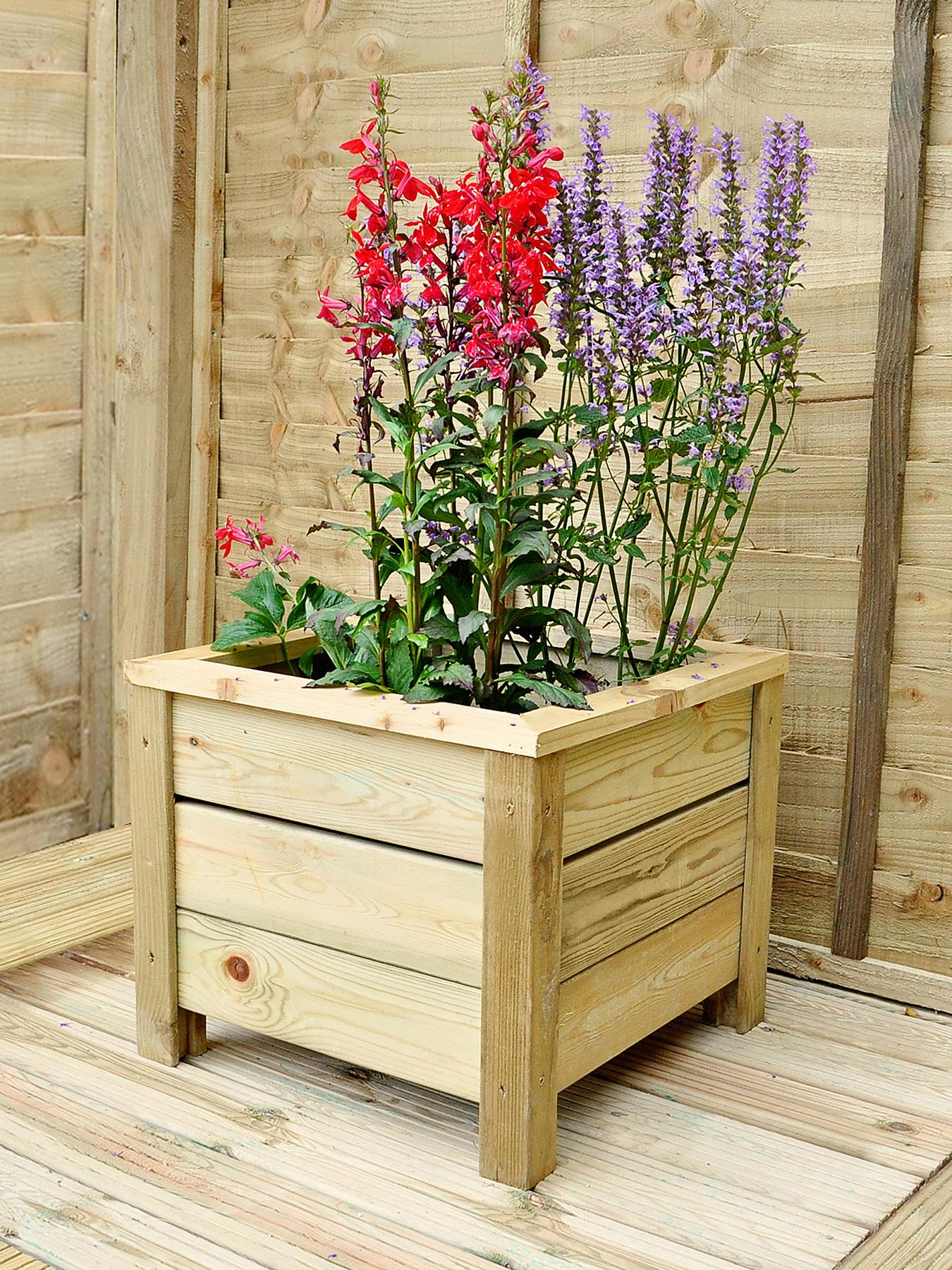 FOREST Garden Square Planter - Large